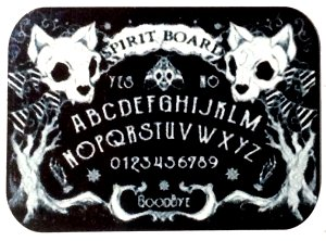 Fridge Magnet #21 - Pretty Kitty Ouija Board