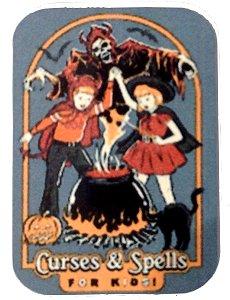 Fridge Magnet #25 - Curses & Spells For Kids
