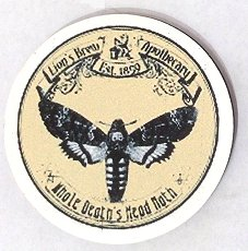 Fridge Magnet #31 - Lion's Brew Apothecary Death Head Moths
