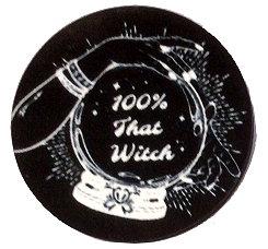 Fridge Magnet #38 - 100% That Witch