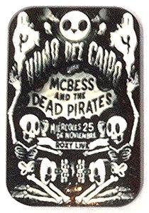 Fridge Magnet #39 - Vintage Poster Dead Pirates