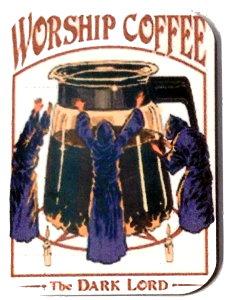 Fridge Magnet #49 - Worship Coffee