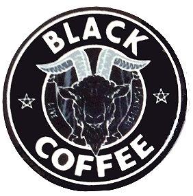 Fridge Magnet #51 - Baphomet Black Coffee