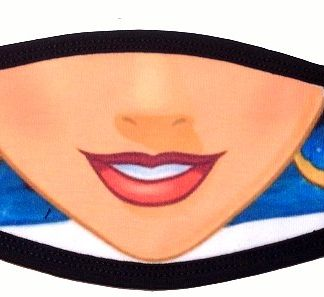 Princess Jasmine Face Mask