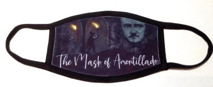 Edgar Allen Poe The Mask of Amontillado Face Mask