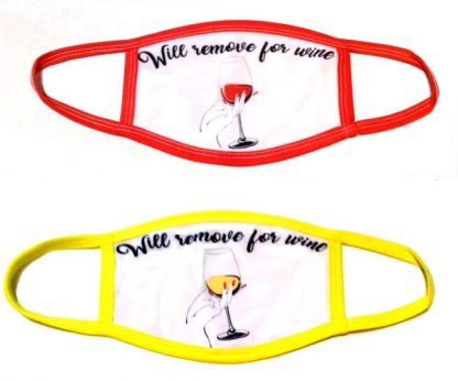 Will Remove For Wine Face Mask - Red or White Wine