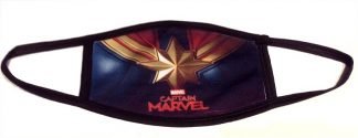 Captain Marvel Face Mask