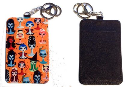 Credit Card Holder Key Chain - Style #4 The Lovely Ladies