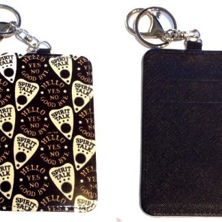 Card Holder Key Chain #13 Ouija Planchette