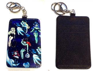 Card Holder Key Chain #14 Which Witch