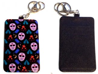 Card Holder Key Chain #17 Friday the 13th