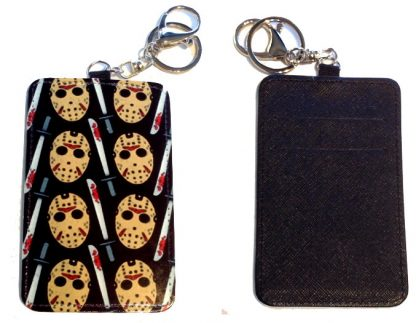 Card Holder Key Chain #18 Friday the 13th Part 2