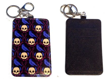 Card Holder Key Chain #19 The Raven