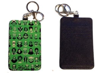 Card Holder Key Chain #21 Vintage Villains