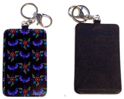 Card Holder Key Chain #23 Pretty Little Bat