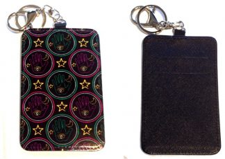 Card Holder Key Chain #28 Fortune Teller