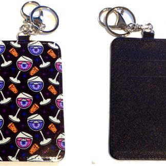 Card Holder Key Chain #29 Happy Hour