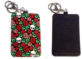 Card Holder Key Chain #30 I Never Promised You A Rose Garden