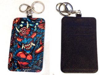 Card Holder Key Chain #33 Tattoo You
