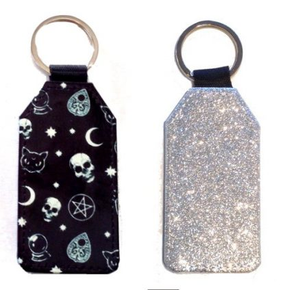 Sparkles & Patterns Key Chain - Style #8 Witchy Ways