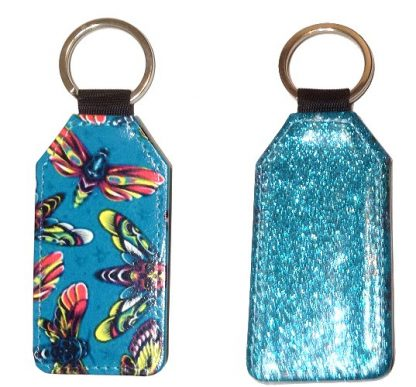 Sparkles & Patterns Key Chain #9 Death Moths