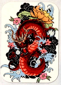 Fridge Magnet #64 - Red Dragon Tattoo