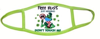 Doctor Seuss The Grinch Free Hugs Face Mask