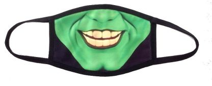 The Mask Face Mask - Jim Carrey