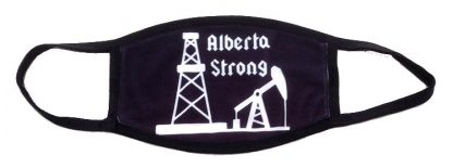 Alberta Strong Oil Industry Face Mask