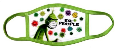 Doctor Seuss The Grinch Ew People Face Mask