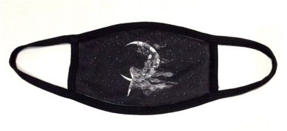 Wiccan Moon Goddess Face Mask