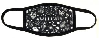 Wiccan-y Witch Face Mask
