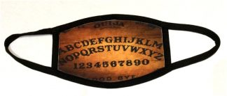.Wooden Ouija Face Mask