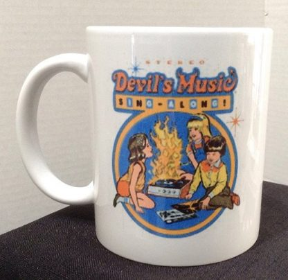 Devil's Music Sing Along Porcelain Coffee Mug