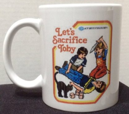 Let's Sacrifice Toby Porcelain Coffee Mug