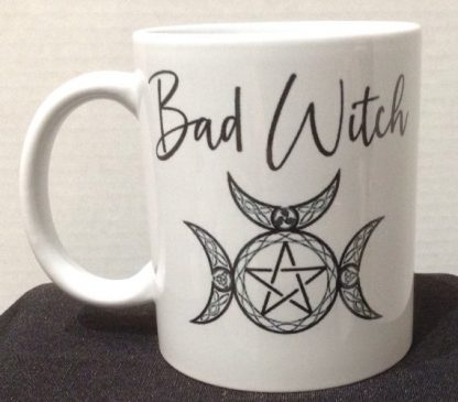 Good Witch Bad Witch Porcelain Coffee Mug