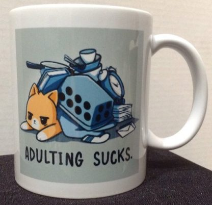 Adulting Sucks Coffee Mug