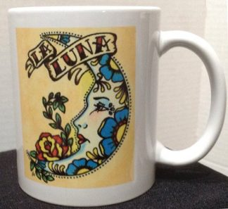 La Luna Tattoo Coffee Mug