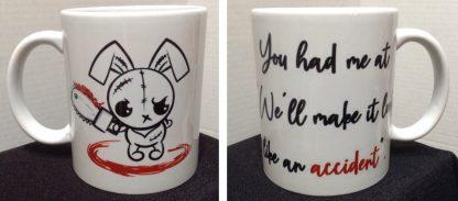 Make It Look Like an Accident Porcelain Coffee Mug