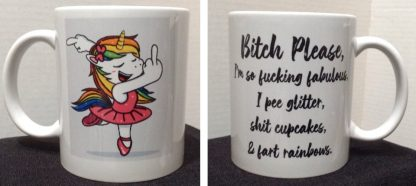 PLEASE Porcelain Coffee Mug