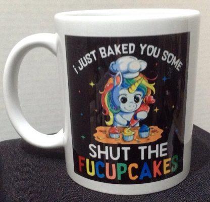 FU Cupcakes Porcelain Coffee Mug