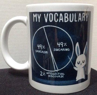 My Vocabulary Porcelain Coffee Mug