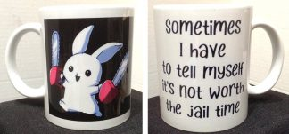 Not Worth The Jail Time Porcelain Mug