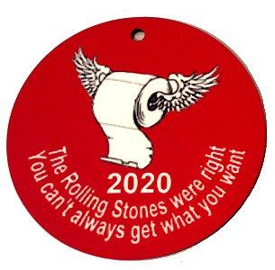 2020 Commemorative Christmas Ornament - The Stones Were Right