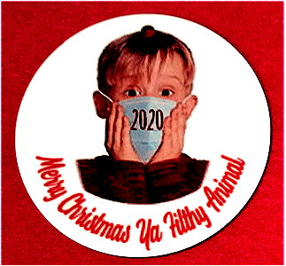 2020 Commemorative Christmas Ornament - Home Alone
