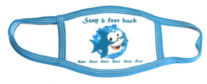 Baby Shark Doo Doo Face Mask - Blue