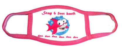 Baby Shark Doo Doo Face Mask - Pink