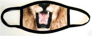 Regal Lion Face Mask