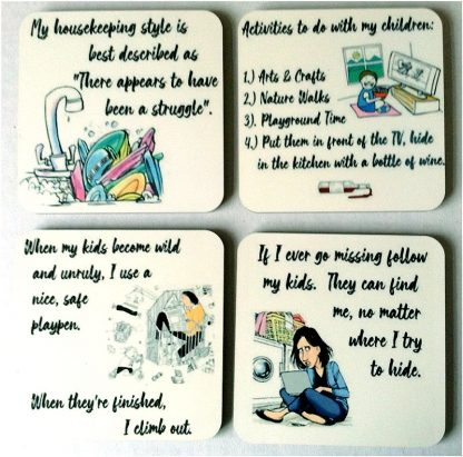 Mama Needs a Drink - Set of 4 Coasters