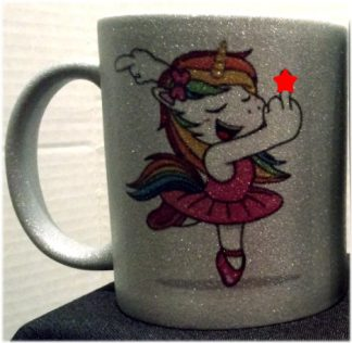 Please B*tch, I'm So F*cking Fabulous... Sparkle Finish Porcelain Coffee Mug